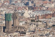 Free Gothic Catedral Of Barcelona Stock Photography - 18488982