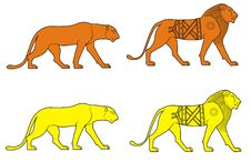 Free Lions Stock Image - 18489171