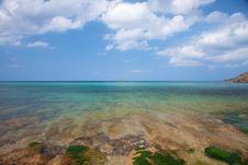 Sea Horizon At Menorca Royalty Free Stock Photography