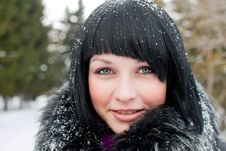 Free Winter Girl Royalty Free Stock Photography - 18489407