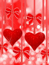 Free Two Red Hearts Royalty Free Stock Images - 18492629