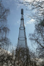 Free Old Radio And TV Tower Of Moscow Royalty Free Stock Image - 18499236