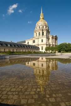 Napoleon S Tomb At Les Invalides Royalty Free Stock Images