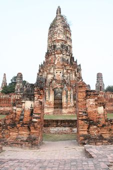 Free Temples In Ayuttaya Stock Photos - 18490653