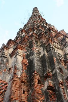 Free Temples In Ayuttaya Royalty Free Stock Photography - 18490667
