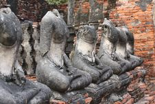 Free Temples In Ayuttaya Stock Photography - 18490692
