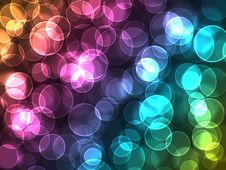 Free Magic Color Bokeh Royalty Free Stock Images - 18491669