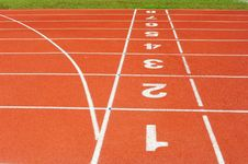 Free Running Track Stock Image - 18492811
