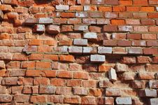 Free Old Brick Wall Royalty Free Stock Photography - 18493857