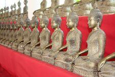 Free Buddha Statues Royalty Free Stock Photo - 18493995