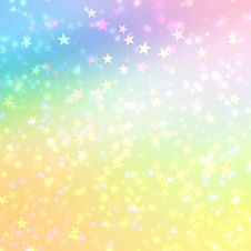 Free Stars Bokeh Background Royalty Free Stock Image - 18498946