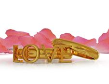 Free Valentine S Rings Stock Image - 18499011