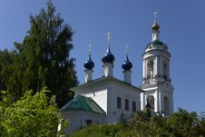 Free Orthodox Church In Ples, Russia Stock Photography - 18499222