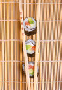 Free Sushi And Wooden Chopsticks Royalty Free Stock Image - 1850316