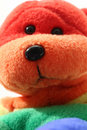 Free Rainbow Teddy Bear Stock Photo - 1850490