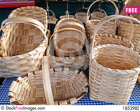 woven wood baskets 2