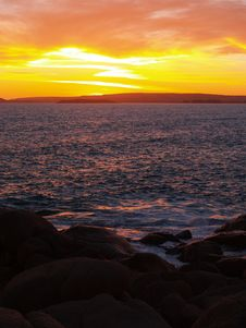 Free Sun Set Splash Stock Photo - 1852360