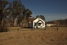 Church In A Rural Area Stock Image