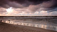 Free Sunset Ocean Stock Image - 1852901
