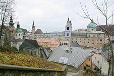 Free Salzburg Cityscape Royalty Free Stock Image - 1854346