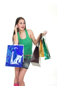Free Shopping Girl Stock Photos - 1854593