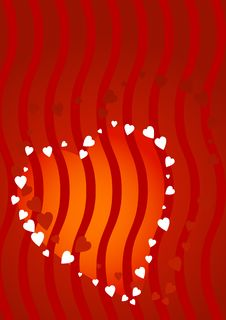Free Red Hearts Background Stock Photos - 1855123