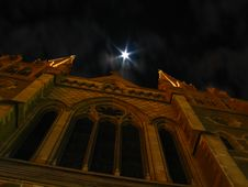 Free St Paul S Cathedral At Night Royalty Free Stock Photography - 1855387