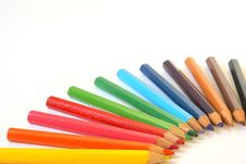 Free Pencils Composition Royalty Free Stock Photography - 1855517