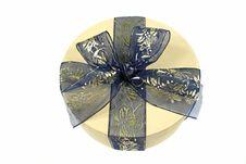 Free Blue Gift Royalty Free Stock Image - 1856466