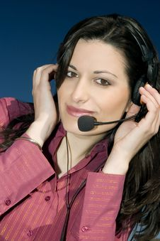 Free Call Center Royalty Free Stock Photography - 1856737