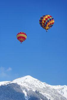 Free Hot Air Balloons Royalty Free Stock Photos - 1856988