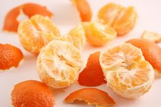 Free Peeled Mandarin Royalty Free Stock Image - 1857476