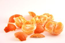 Free Peeled Mandarin Stock Photos - 1857483