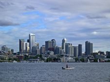 Free Seattle View Royalty Free Stock Images - 1857839