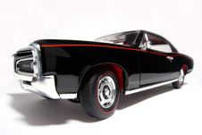 1966 Pontiac GTO Metal Scale Toy Car Fisheye 2 Stock Image