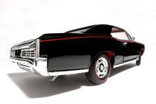 Free 1966 Pontiac GTO Metal Scale Toy Car Fisheye 3 Royalty Free Stock Image - 1857976