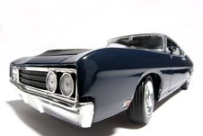 Free 1969 Ford Torino Talladega Metal Scale Toy Car Fisheye 3 Stock Images - 1858044