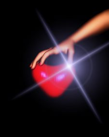 Free Heart In Hand 31 Stock Images - 1858344