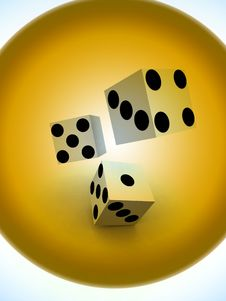 Free Dice 45 Stock Photography - 1858432