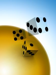Free Dice 49 Stock Images - 1858434