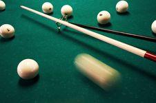 Free Billiard Table Stock Image - 1858771