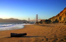 Free Baker Beach, San Francisco Royalty Free Stock Photo - 1858955