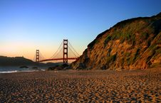 Free Baker Beach, San Francisco Stock Images - 1858964