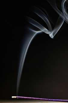 Free Joss Stick And Smoke Stock Photo - 1859090
