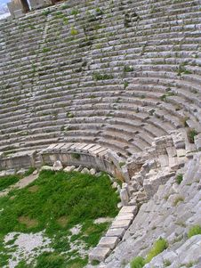 Free Ruins Of Amphitheatre Stock Photo - 1859200