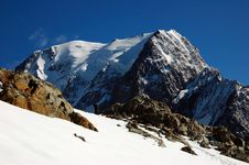 Free Mont Blanc South 2 Stock Images - 1859784