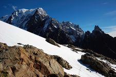 Free Mont Blanc South Stock Image - 1859811
