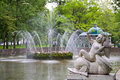 Free Fountain In Lower Park Of Peterhof Royalty Free Stock Images - 18500849