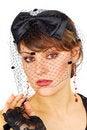 Free Veil Lady. Stock Photo - 18505020