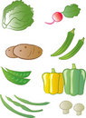 Free Produce - Vegetables Stock Image - 18506111